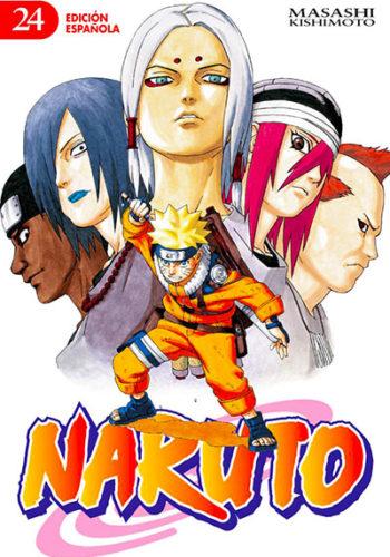 Naruto manga tomo 24