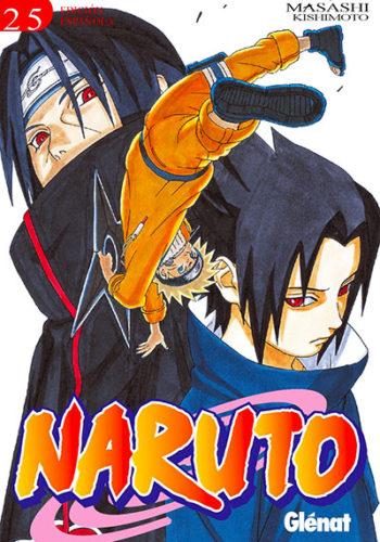 Naruto manga tomo 25