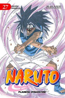 Naruto manga tomo 27