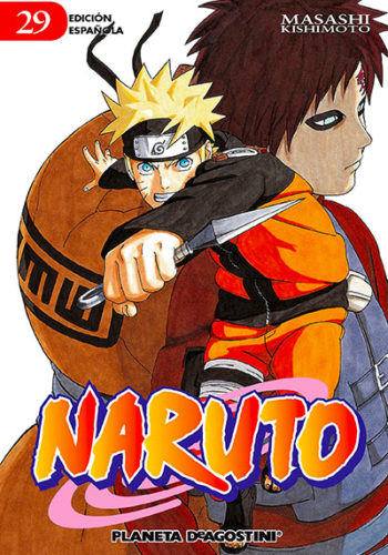 Manga Naruto 29