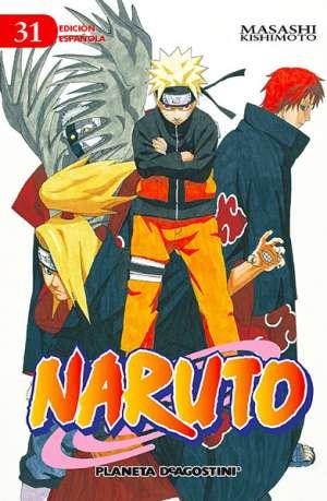 Naruto manga tomo 31