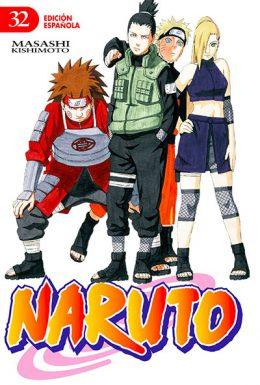 Naruto manga tomo 32