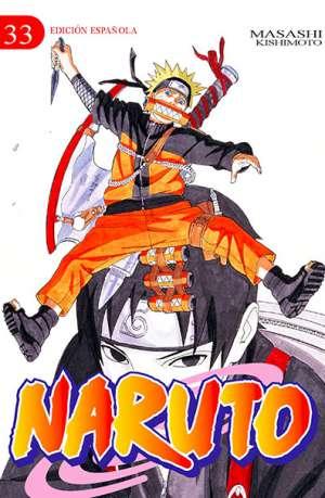 Naruto manga tomo 33