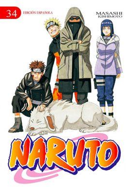 Naruto manga tomo 34