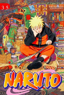 Naruto manga tomo 35