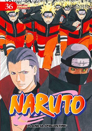 Manga Naruto 36