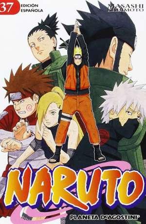 Naruto manga tomo 37