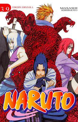 Naruto manga tomo 39