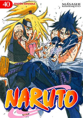 Naruto manga tomo 40