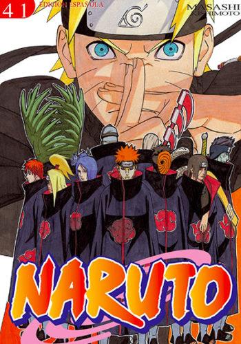 Naruto manga tomo 41