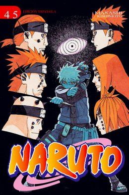 Naruto manga tomo 45