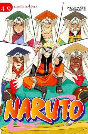 Naruto manga tomo 49