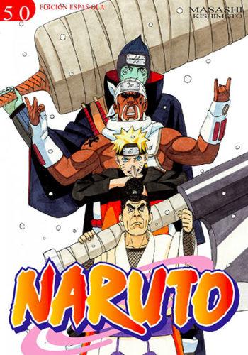 Naruto manga tomo 50