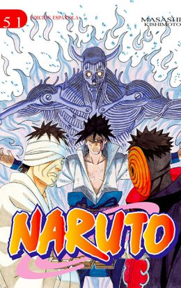 Naruto manga tomo 51