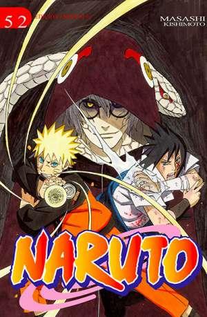 Naruto manga tomo 52