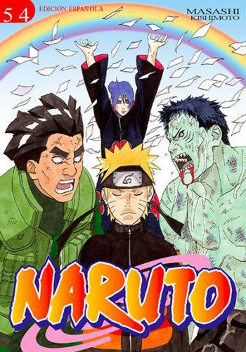 Naruto manga tomo 54
