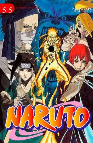 Naruto manga tomo 55