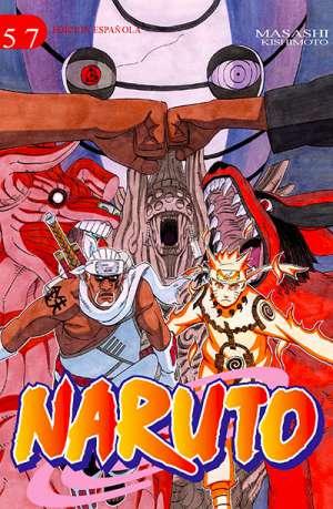 Naruto manga tomo 57
