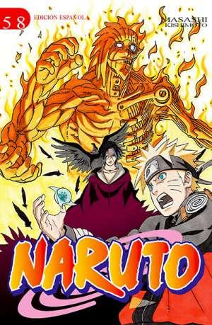 Naruto manga tomo 58