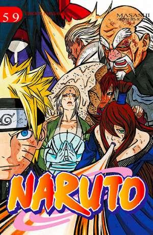 Naruto manga tomo 59