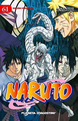 Naruto manga tomo 61