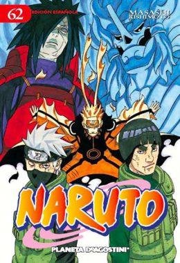 Naruto manga tomo 62