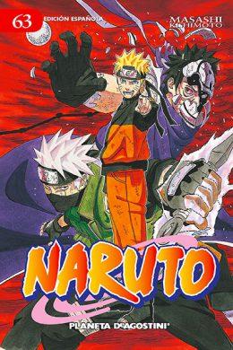 Naruto manga tomo 63