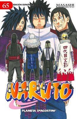 Naruto manga tomo 65