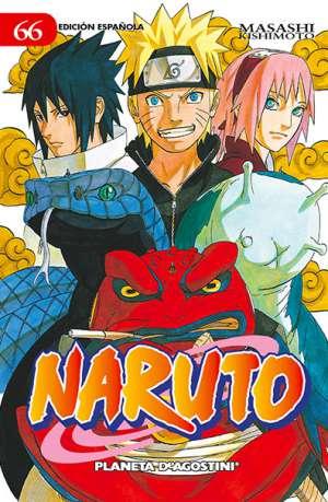 Naruto manga tomo 66