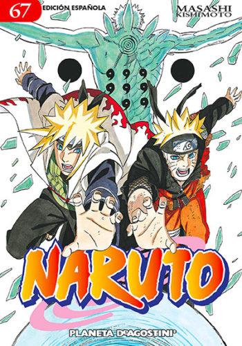 Naruto manga tomo 67
