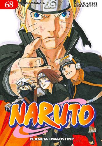 Naruto manga tomo 68