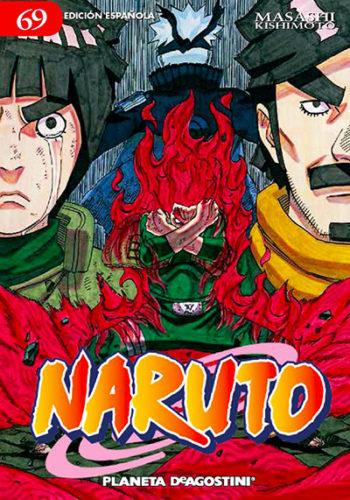 Naruto manga tomo 69