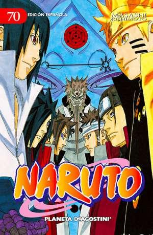 Naruto manga tomo 70