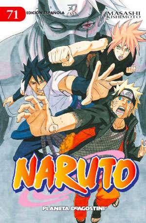 Naruto manga tomo 71