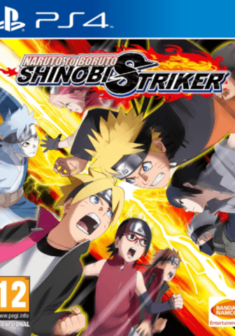 Naruto to Boruto Shinobi Striker PS4 Portada