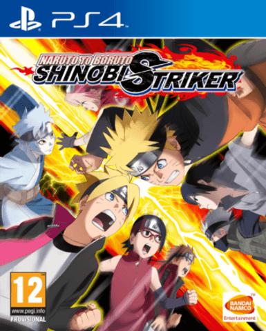 Naruto to Boruto Shinobi Striker PS4 Portada