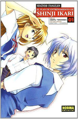 Neogenesis Evangelion El Plan de Entrenamiento de Shinji Ikari Manga 01