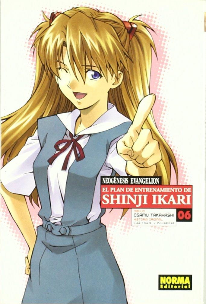 Neogenesis Evangelion El Plan de Entrenamiento de Shinji Ikari Manga 06