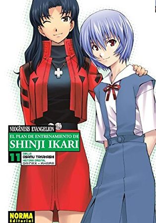 Neogenesis Evangelion El Plan de Entrenamiento de Shinji Ikari Manga 11