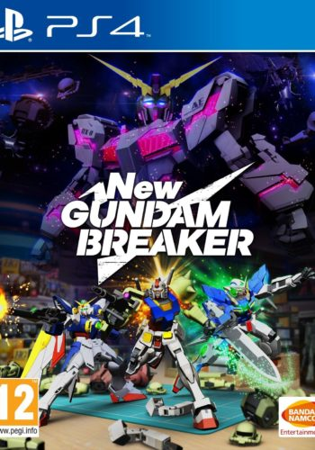 New Gundam Breaker PS4 Portada