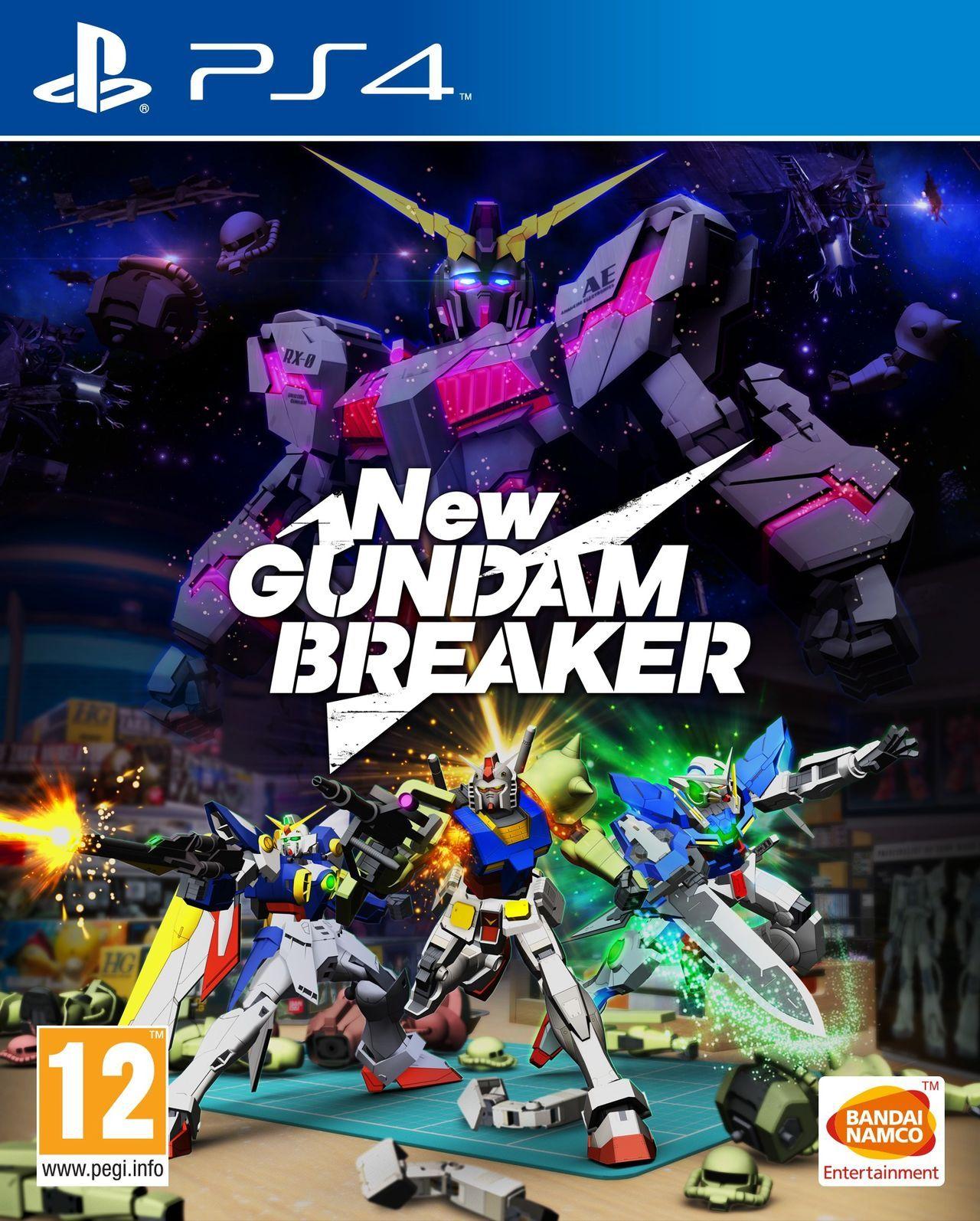 New Gundam Breaker PS4 Portada