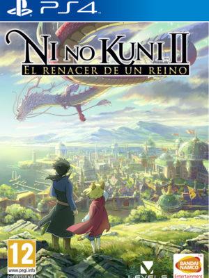 Ni no Kuni II El Renacer de un Reino PS4 Portada