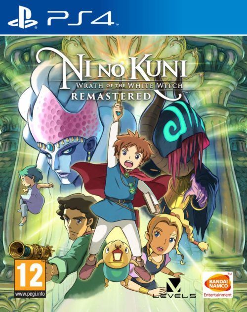 Ni no Kuni La ira de la Bruja Blanca Remastered PS4