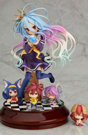 No Game No Life Figura Shiro 20 cm 01