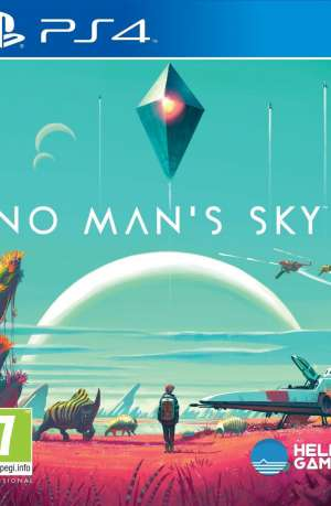 No Man's Sky PS4 Portada