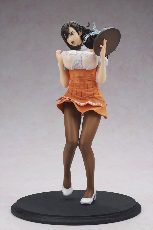Oda Non Heroine Collections Figura PVC Wakazuma Waitress Hitomi 02