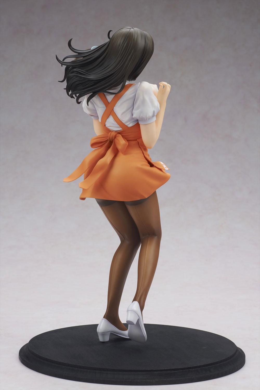 Oda Non Heroine Collections Figura PVC Wakazuma Waitress Hitomi 03