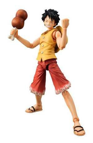 One Piece Figura Action Heroes Monkey D Luffy Past Blue Yellow Ver 01