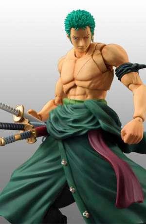 One Piece Figura Action Heroes Roronoa Zoro 18 cm