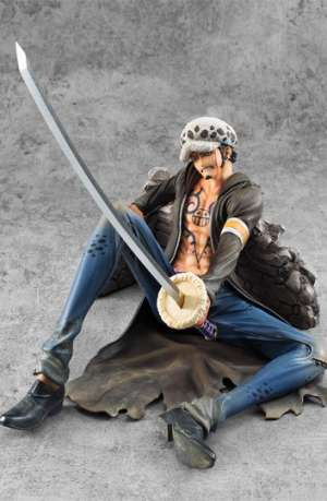 One Piece Figura Excellent Model P.O.P. Trafalgar Law Ver VS Limited Edicion 01